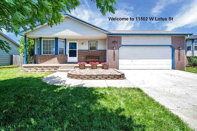 11502 W Lotus St, Wichita, KS 67209 (MLS #582169) :: Kirk Short's Wichita Home Team