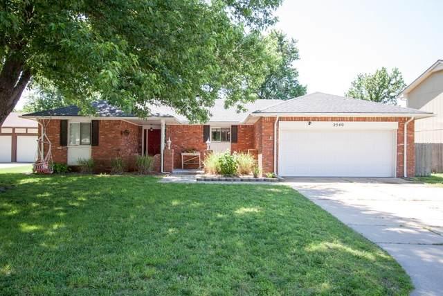 2540 N Claiborn Cir, Wichita, KS 67226 (MLS #582188) :: Graham Realtors