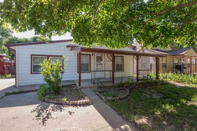 3438 N Park Pl, Wichita, KS 67204 (MLS #582307) :: Keller Williams Hometown Partners