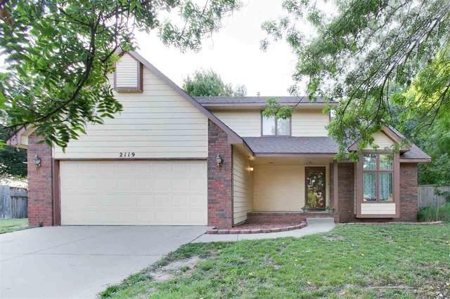 2119 N Tee Time Ct, Wichita, KS 67212 (MLS #583657) :: Keller Williams Hometown Partners