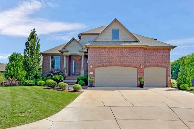 601 N Lakecrest Cir, Andover, KS 67002 (MLS #583676) :: Lange Real Estate
