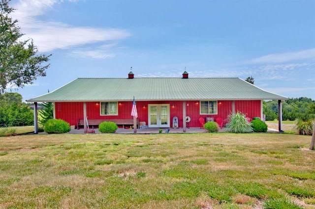 1138 N River Rd, Mulvane, KS 67110 (MLS #583716) :: Lange Real Estate