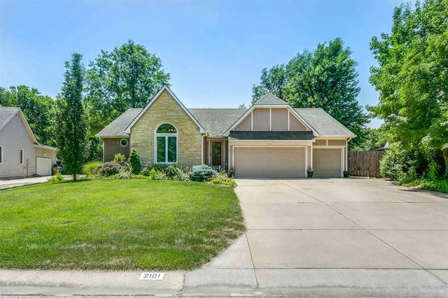 2101 E Countryview Dr, Derby, KS 67037 (MLS #583876) :: Keller Williams Hometown Partners