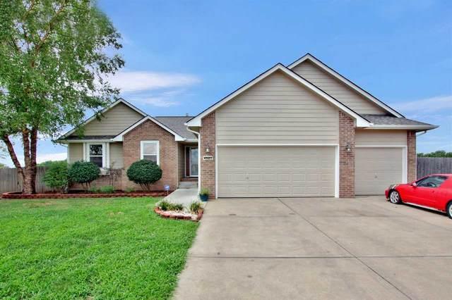 4527 S Flora Ct, Wichita, KS 67215 (MLS #584416) :: Keller Williams Hometown Partners