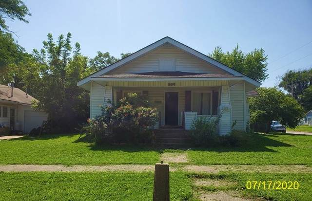504 S G St, Wellington, KS 67152 (MLS #584738) :: On The Move