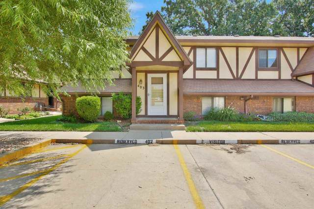3536 W 2nd #403, Wichita, KS 67203 (MLS #584859) :: Graham Realtors