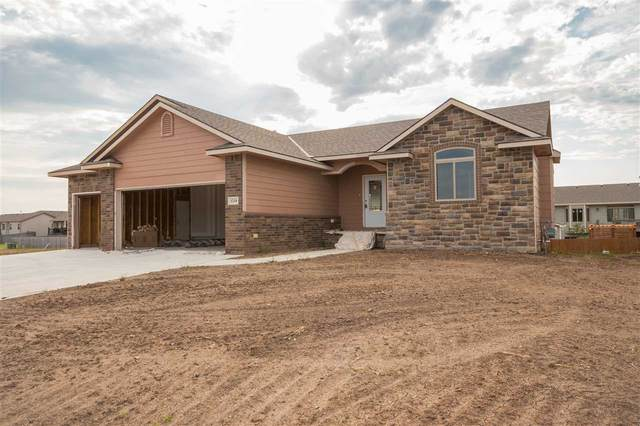 1218 N Spring Ridge Dr, Derby, KS 67039 (MLS #585566) :: Preister and Partners | Keller Williams Hometown Partners