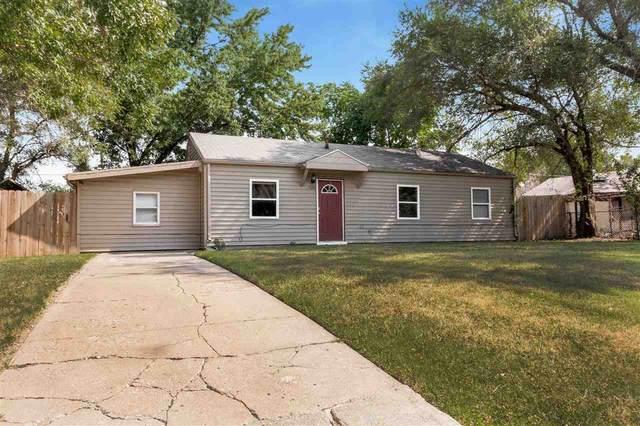 1526 E Evanston St, Park City, KS 67219 (MLS #585918) :: Keller Williams Hometown Partners