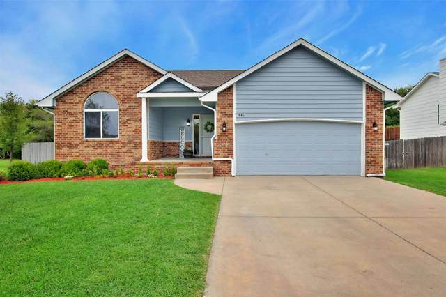1846 N Columbine, Andover, KS 67002 (MLS #586066) :: Keller Williams Hometown Partners