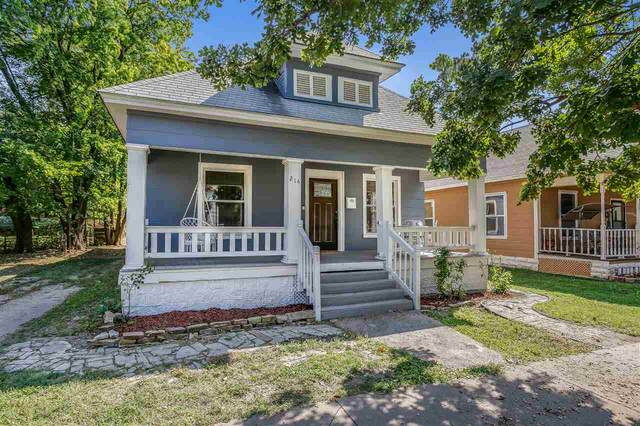 214 N Poplar Ave, Wichita, KS 67214 (MLS #587162) :: Graham Realtors