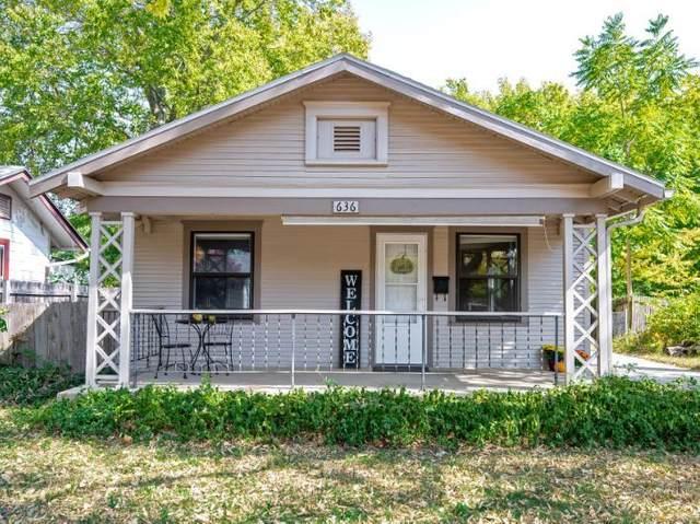 636 S Poplar St, Wichita, KS 67211 (MLS #587638) :: On The Move