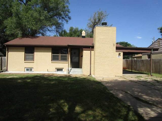 1821 S Pinecrest St, Wichita, KS 67218 (MLS #587644) :: Keller Williams Hometown Partners