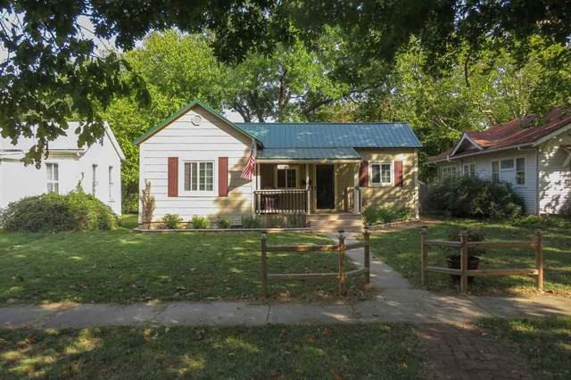 318 Spruce St, Halstead, KS 67056 (MLS #587724) :: On The Move