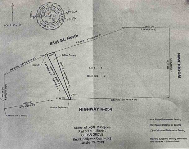 Lot 1, Block 2 Cedar Grove, Kechi, KS 67067 (MLS #587825) :: COSH Real Estate Services