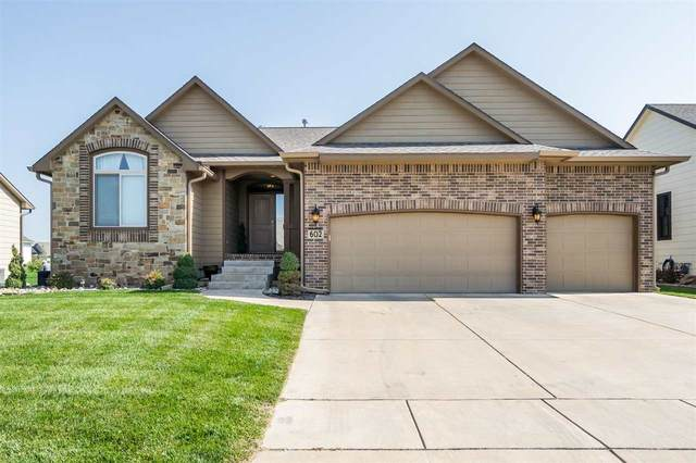602 N Jaax St, Wichita, KS 67235 (MLS #587954) :: On The Move