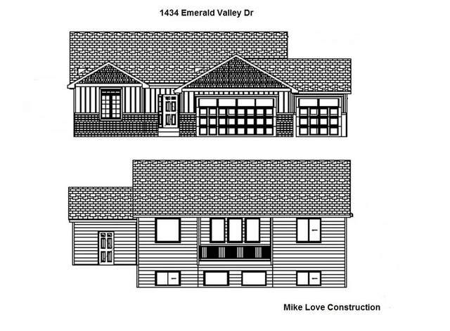 1434 N Emerald Valley Dr, Mulvane, KS 67110 (MLS #587975) :: Kirk Short's Wichita Home Team
