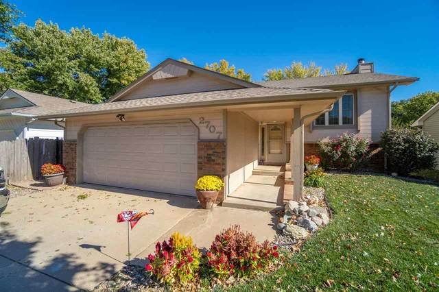 2707 Glacier Ct, Wichita, KS 67215 (MLS #587996) :: Preister and Partners | Keller Williams Hometown Partners