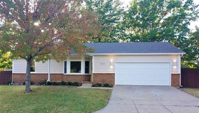 2103 N Sunridge, Wichita, KS 67235 (MLS #588097) :: Keller Williams Hometown Partners