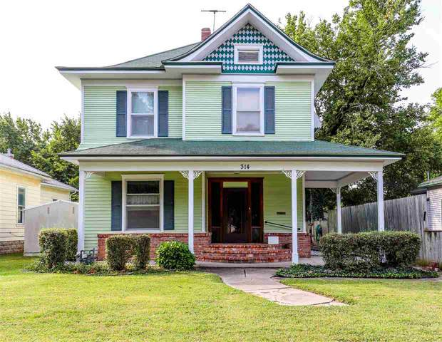 314 E 12TH ST, Wellington, KS 67152 (MLS #588182) :: Preister and Partners | Keller Williams Hometown Partners