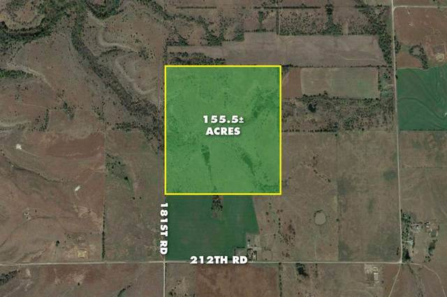 155.5 +/- Acres @ 181st & 212th Rd, Burden, KS 67019 (MLS #588342) :: Kirk Short's Wichita Home Team