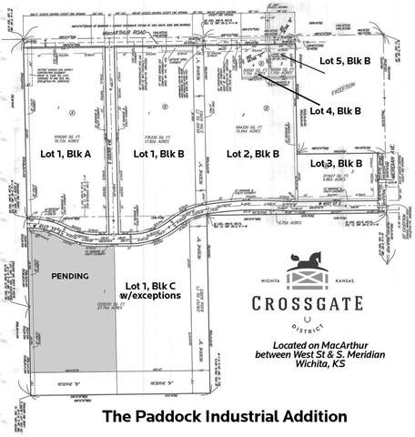 Lot 1, Block B Macarthur Reserve A, Wichita, KS 67217 (MLS #588740) :: Pinnacle Realty Group