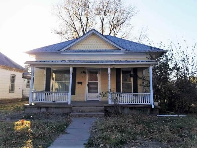 614 N B St, Wellington, KS 67152 (MLS #588980) :: Kirk Short's Wichita Home Team
