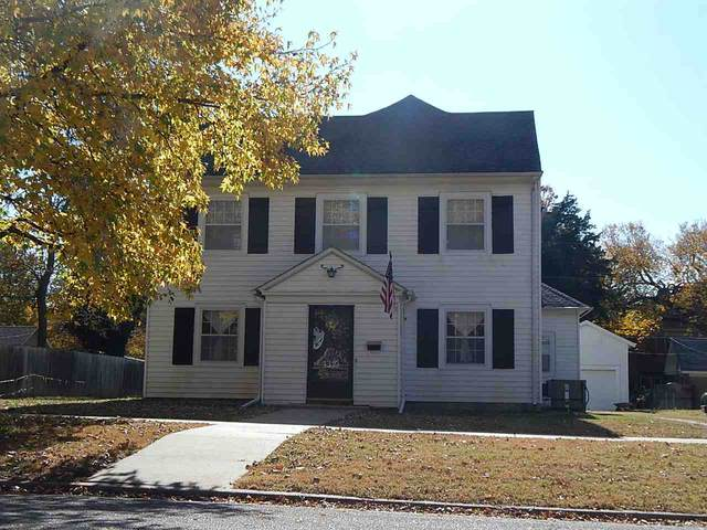 1319 E 8th Ave, Winfield, KS 67156 (MLS #589020) :: Kirk Short's Wichita Home Team