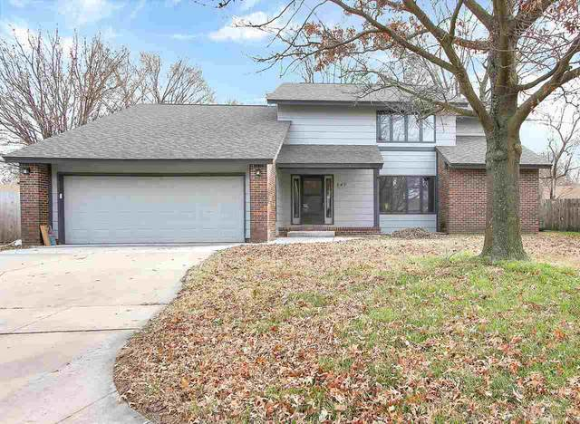 247 W 54TH ST S, Wichita, KS 67217 (MLS #589341) :: Jamey & Liz Blubaugh Realtors