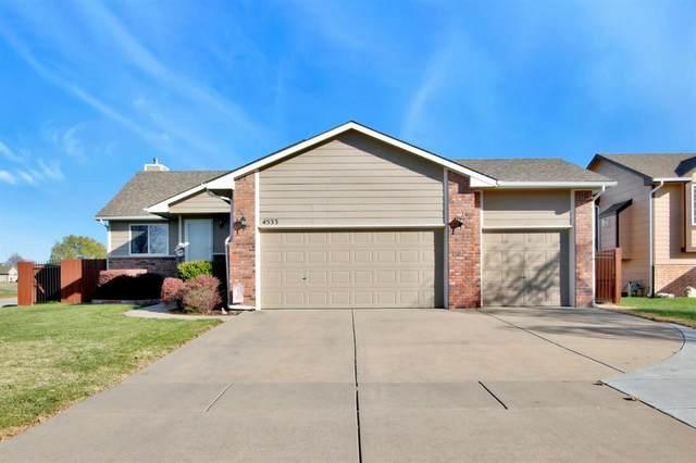 4533 E Falcon Ct, Wichita, KS 67220 (MLS #589455) :: Jamey & Liz Blubaugh Realtors