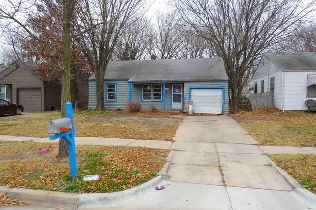 1243 N Dellrose St, Wichita, KS 67208 (MLS #589599) :: Kirk Short's Wichita Home Team