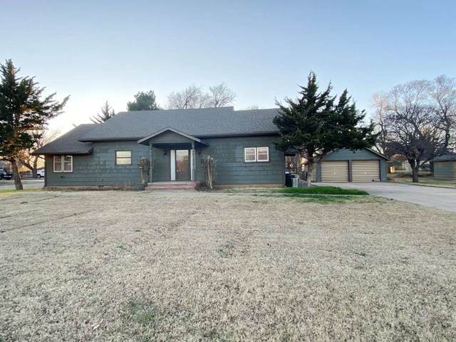 818 Robinson St, Kiowa, KS 67070 (MLS #590244) :: On The Move