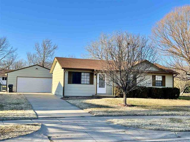202 W Stewart Dr, Goddard, KS 67052 (MLS #591160) :: Preister and Partners | Keller Williams Hometown Partners