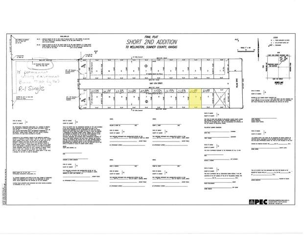 2130 E 12TH ST Lot 3, Wellington, KS 67152 (MLS #591239) :: Kirk Short's Wichita Home Team