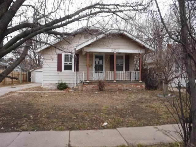 803 N Pershing St, Wichita, KS 67208 (MLS #591314) :: Kirk Short's Wichita Home Team