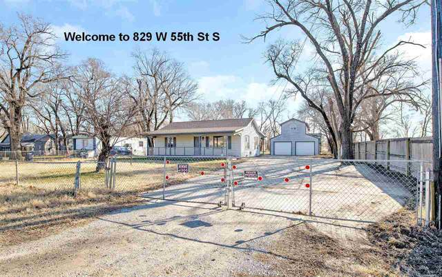 829 W 55th St S, Wichita, KS 67217 (MLS #591316) :: Kirk Short's Wichita Home Team
