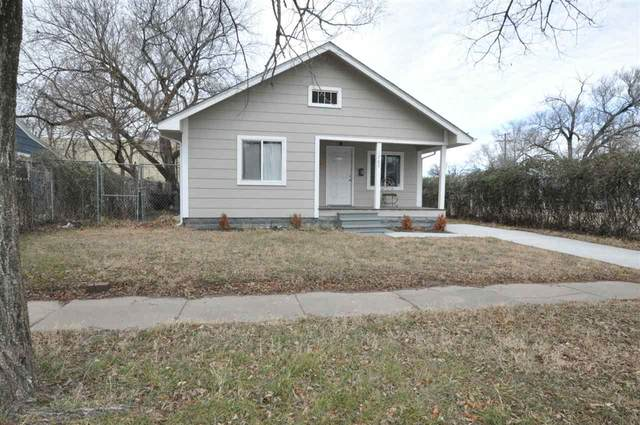 1707 S Mosley Ave, Wichita, KS 67211 (MLS #591399) :: Graham Realtors