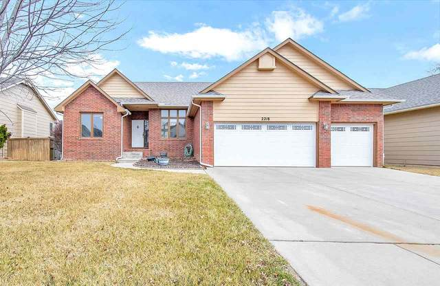 2218 E Sommerhauser Cir, Derby, KS 67037 (MLS #591423) :: Kirk Short's Wichita Home Team