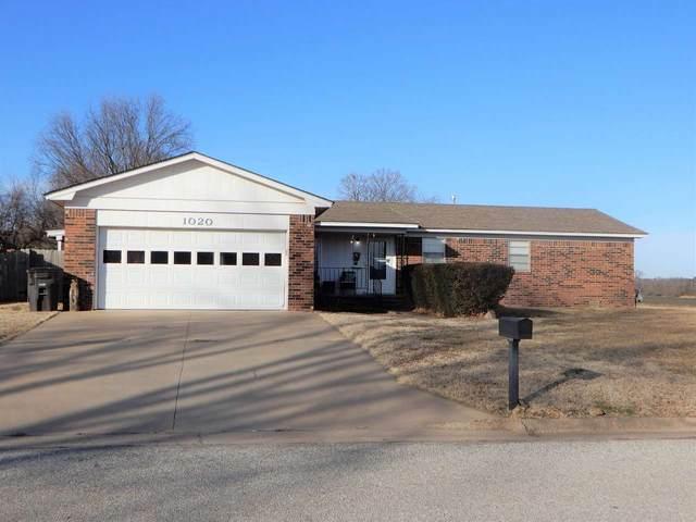 1020 Highland Dr, Arkansas City, KS 67005 (MLS #591443) :: Kirk Short's Wichita Home Team