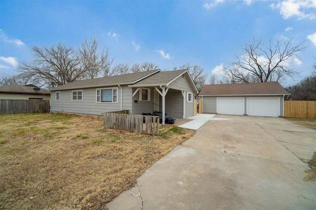 1825 S Bonn Ave, Wichita, KS 67213 (MLS #591602) :: Keller Williams Hometown Partners