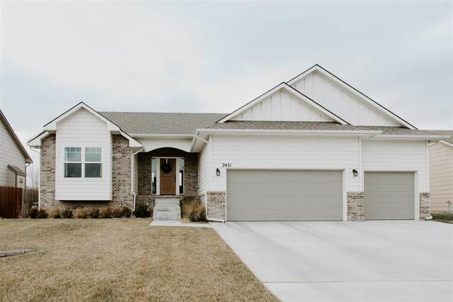 2421 S Canyon St, Wichita, KS 67235 (MLS #591623) :: On The Move