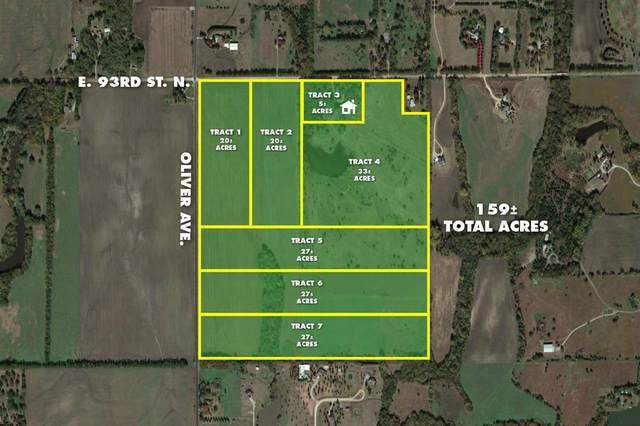 33.49 +/- Acres At 93rd & Oliver Tract 4, Valley Center, KS 67147 (MLS #591772) :: The Boulevard Group