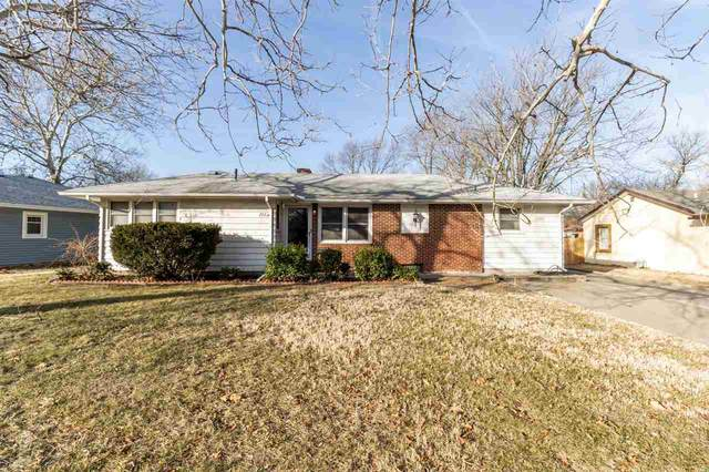 2525 S Oak Pass St, Wichita, KS 67216 (MLS #592189) :: Keller Williams Hometown Partners