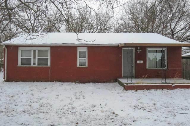 1836 S Bonn Ave, Wichita, KS 67213 (MLS #592294) :: Keller Williams Hometown Partners