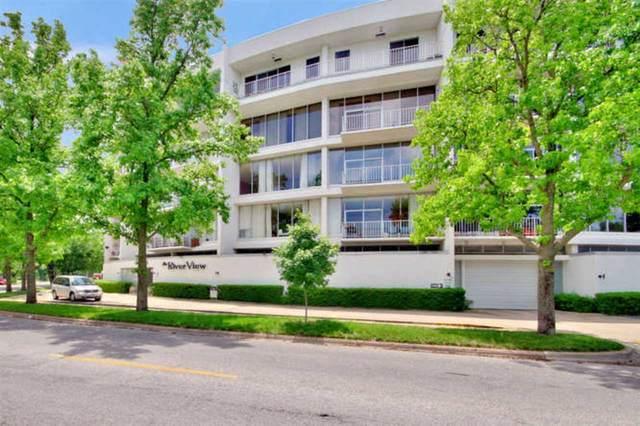 1401 W River Blvd 4C, Wichita, KS 67203 (MLS #592456) :: COSH Real Estate Services