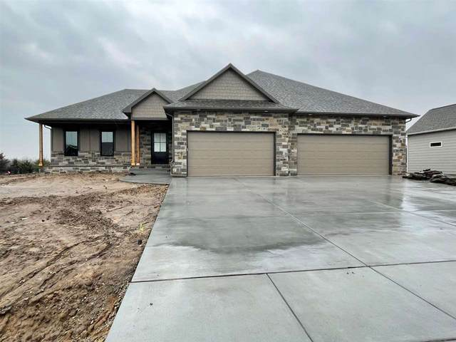1605 E Elk Ridge Ave, Goddard, KS 67052 (MLS #592514) :: The Boulevard Group