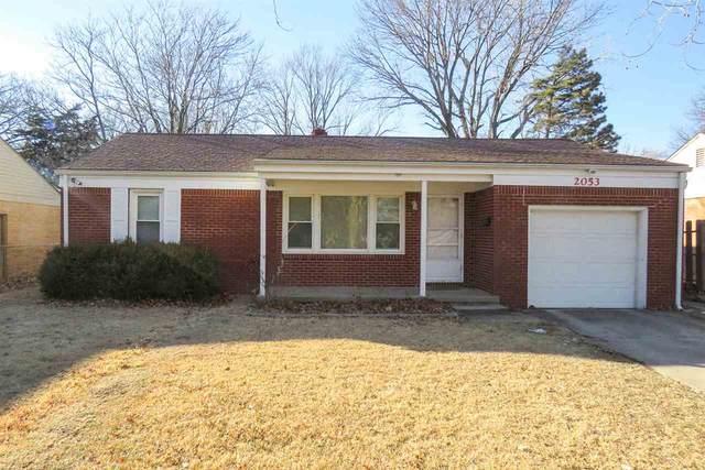 2053 S Ridgewood Dr, Wichita, KS 67218 (MLS #592541) :: On The Move
