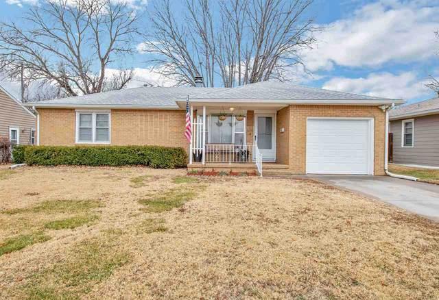 2255 S Dellrose Ave, Wichita, KS 67218 (MLS #592765) :: Keller Williams Hometown Partners