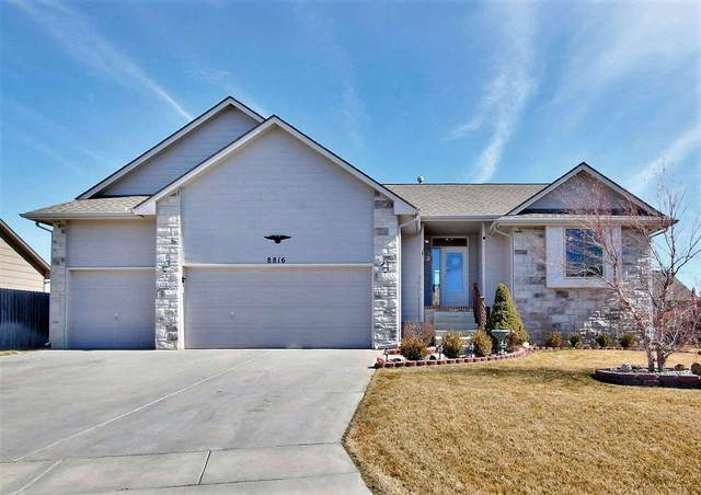 8816 N Ridgewood Ln, Wichita, KS 67147 (MLS #592891) :: Jamey & Liz Blubaugh Realtors
