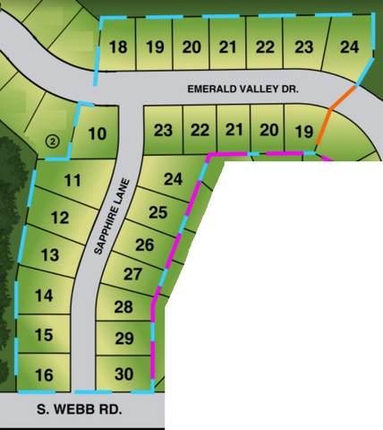 1502 N Emerald Valley Dr, Mulvane, KS 67110 (MLS #593880) :: The Boulevard Group