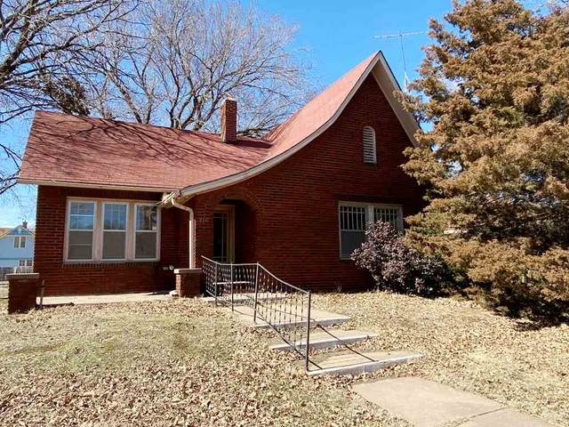 210 N Bluff Ave, Anthony, KS 67003 (MLS #593966) :: Keller Williams Hometown Partners
